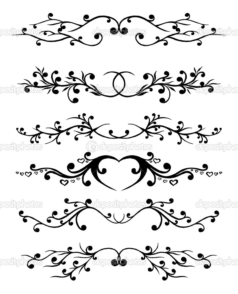   vector ornament In flower style  Stock Vector #1277279