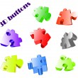 Royalty-Free Stock Vector Image: Vector glossy buttons