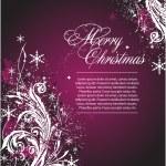 Vector bannière de Noël — Vecteur