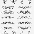 Vectorized Scroll Design. — Stockvectorbeeld