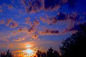 Blick zonsondergang — Stockfoto
