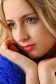 Beautiful blonde girl — Stock Photo