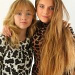 Two gorgeous girls — Stock Photo