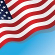 US flag - Image vectorielle