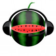 Stock Photo: Watermelon