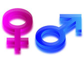 Gender sign — Stock Vector