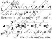 Math — Stock Vector