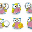 Royalty-Free Stock ベクターイメージ: Owl icon