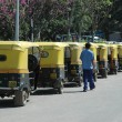 Stock Photo: Auto Rickshaw Taxi