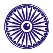 Ashok Chakra - Stock Photo