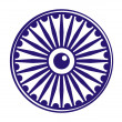 ashok chakra — Stock Photo
