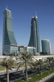 Bahrain Financial Harbour — Stock Photo