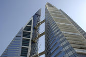Bahrain World Trade Centre — Stock Photo