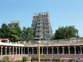 Sri Meenakshi Amman temple, madurai — Stock Photo