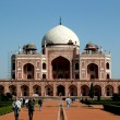 Humayun Tomb, New Delhi - Stock Photo