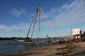 Chinese Fishing Nets India — Stock Photo