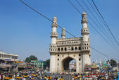 Charminar, Hyderabad Old City — Stock Photo