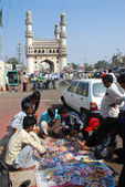 CD Selling at Charminar Hyderabad — Stock Photo