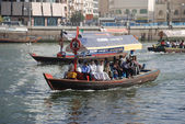 Ferry at Dubai Creek — Stock Photo