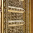 Brass Door at Jaipur, Rajasthan India — Stock Photo
