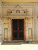 Motifs at Jaipur Rajasthan India — Stock Photo