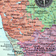Map of South India — Stock Photo
