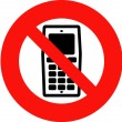 Mobile Phones Banned — Stock Photo #1407844