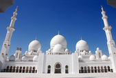 Sheikh Zayed Mosque, Abu Dhabi — Stock Photo