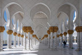 Walkway Sheikh Zayed Mosque — Stock Photo