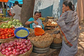 Road Side Vegetable Market — Stock Photo