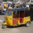 Three Wheel Auto, India - Stock Photo
