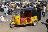 Three Wheel Auto, India — Stock Photo