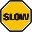 Slow — Stock Photo