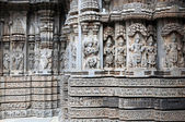 Keshava Temple Somnathpur, Karnataka — Stock Photo