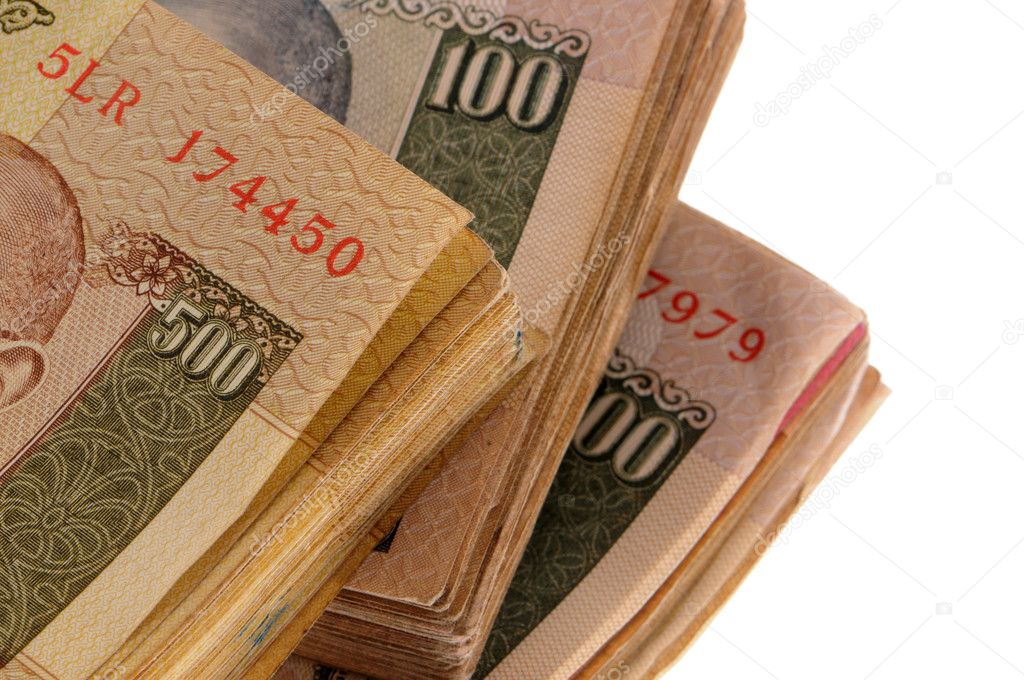 Indian money rupees  Stock Photo #2526145