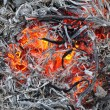 Stock Photo: Fire and Ash