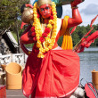 Stock Photo: Statue of lord Hanuman