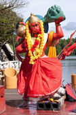 Statue of lord Hanuman — Stock Photo