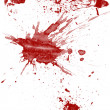 Blood splatter — Stock Photo
