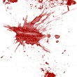 Stock Photo: Blood splatter