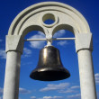 Stock Photo: Ships old bronze bell