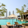Recreation areat hotel in Dubai — Stock Photo #1264427