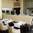 Restaurant in luxury hotel, Dubai, UAE -  