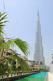 World tallest building Burj Dubai, UAE — Stock Photo