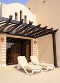Vakantie in villa in luxe hotel — Stockfoto