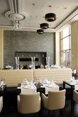 Restauracja w luksusowy hotel, dubaj, zjednoczone emiraty arabskie — Zdjęcie stockowe