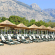 Stock Photo: Beach on MediterraneSea, Antalya