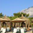 Stock Photo: Beach at MediterraneSea, Antalya