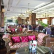 Stock Photo: Luxurious hotel lobby area, Antalya