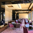 Hotel lobby lounge area, Antalya, Turkey — Foto de Stock